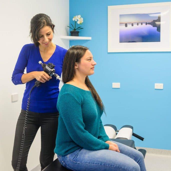 spinal misalignment machine treatment
